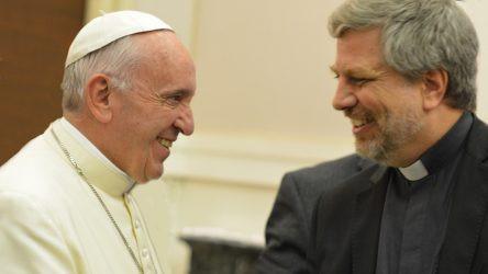 Giacomo Costa SJ con Papa Francesco